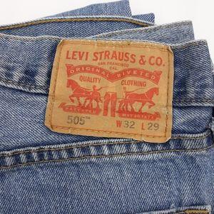🔥Levi's 505 Straight Leg Jeans🔥